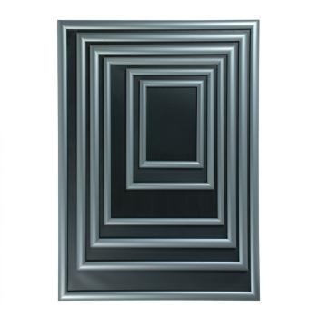 bilderrahmen silber alu din a3 studioausstattung. Black Bedroom Furniture Sets. Home Design Ideas
