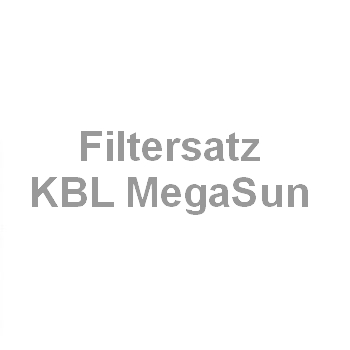 Filtermattensatz KBL MegaSun Genesis, Power, Busines