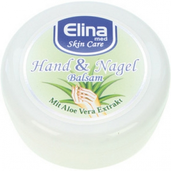 Aloe Vera Hand & Nagel Balsam 200ml in Dose