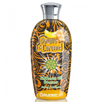 SuperTan BANANA & CARAMEL Safflower Oil Bronzer 200 ml