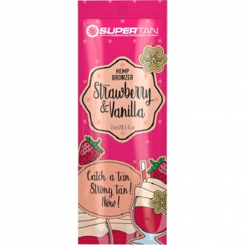 SuperTan STRAWBERRY & VANILLA Hemp Bronzer 15 ml