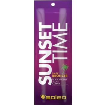 Soleo SUNSET TIME dark tanning bronzer 15 ml