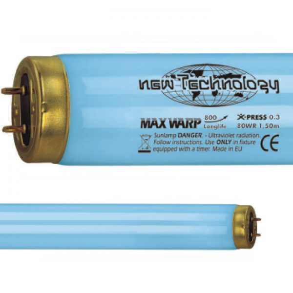 MAX WARP 1000 Longlife X-PRESS 0.3 - 100 Watt