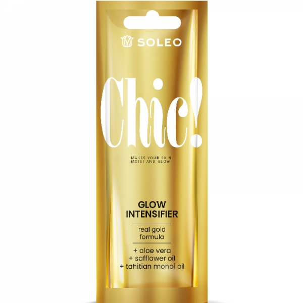 Soleo CHIC! accelerator with gold particles 15 ml