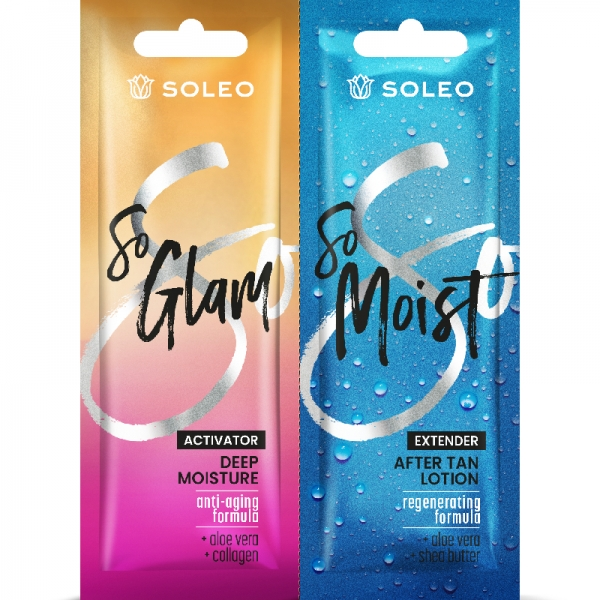 Soleo SO GLAM accelerator with collagen double sachet  2 x 15ml