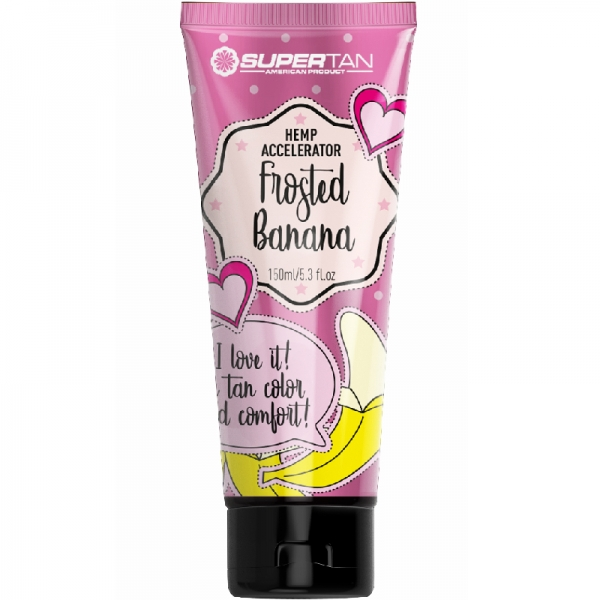 SuperTan FROSTED BANANA Hemp Accelerator 200 ml
