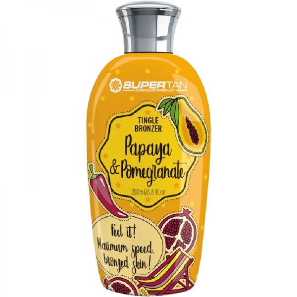 SuperTan PAPAYA & POMEGRANATE Tingle Bronzer 200 ml