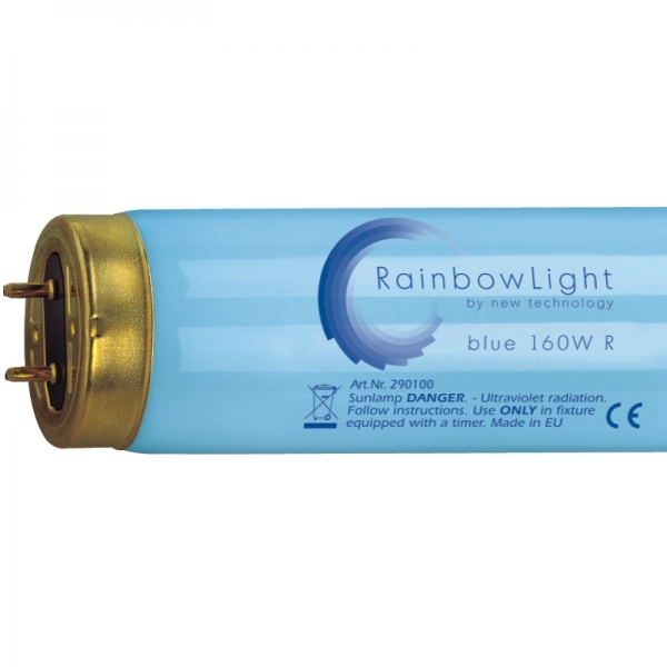 NT- RainbowLight blue 160Watt mit Reflektor - 0,7%UVB