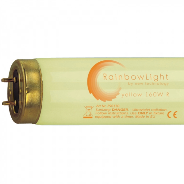 NT- RainbowLight yellow 160Watt mit Reflektor - 1,8%UVB