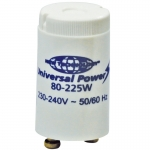 Glimm Starter New-Tech. Universal Power 80-225 Watt